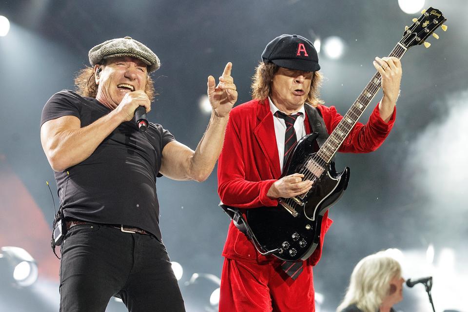 AC/DC Back in Black 25x platinum RIAA