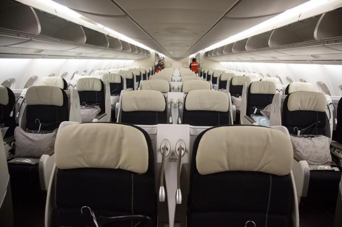 Arrivée de l'Airbus A380 à Mexico