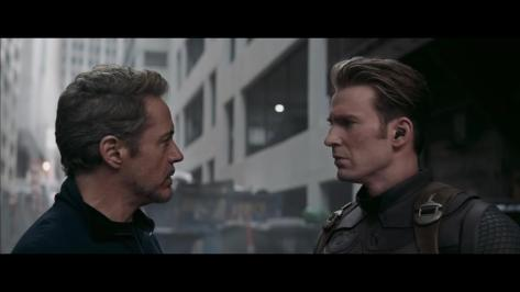 Image result for avengers endgame cap and tony
