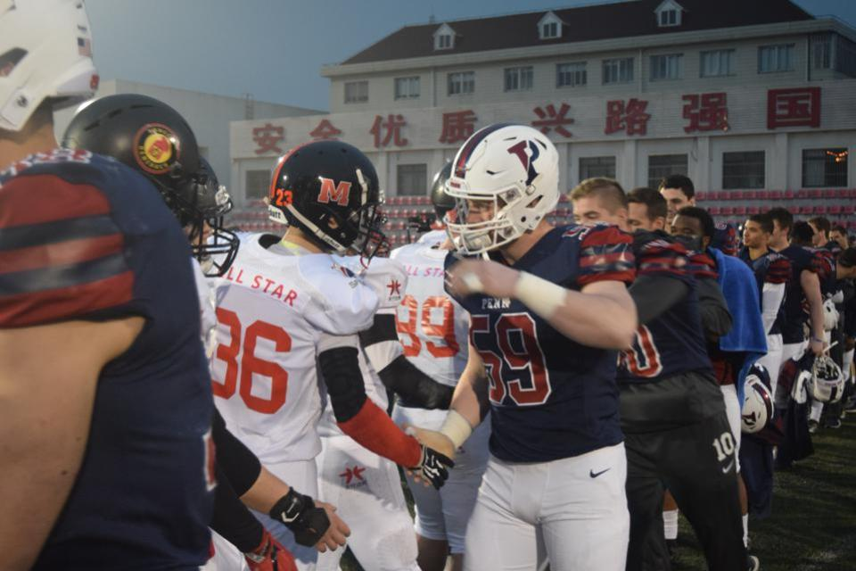 China, University of Pennsylvania, Football, NFL, NCAA