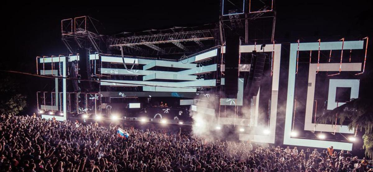 The Dance Arena at EXIT Festival.