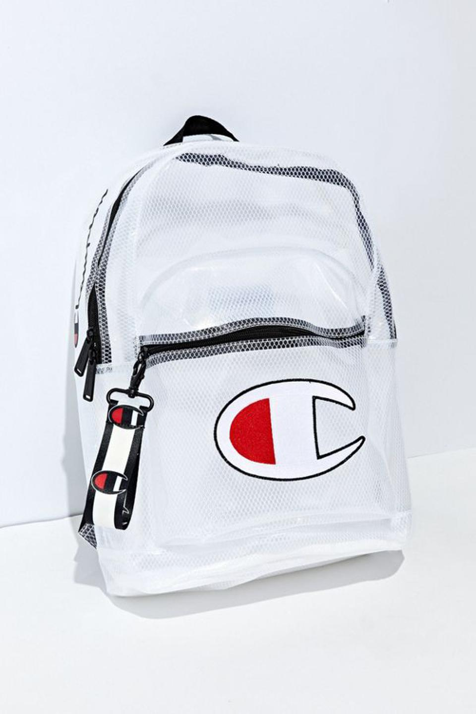 Champion Supercise Clear Backpack