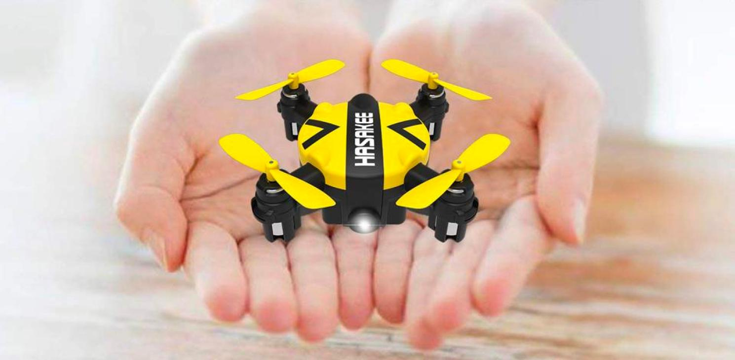 The Hasakee K5 Mini Nano Drone.