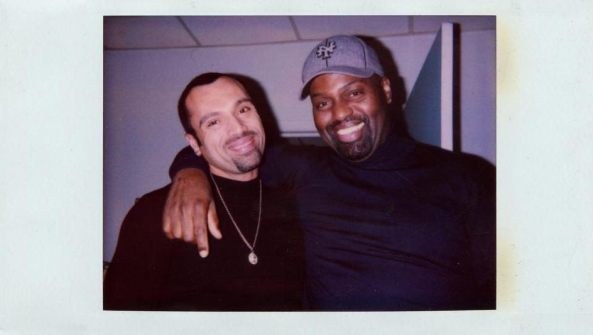 Frankie Knuckles and David Morales
