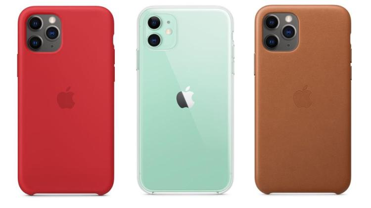 Apple Silicone, Clear, and Leather Cases