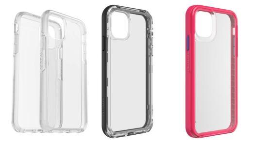Otterbox Symmetry (left), Lifeproof Slam (center), Lifeproof Next (right)