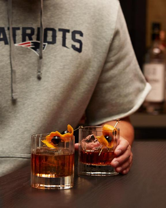 New England Patriots Vanilla Old Fashioned