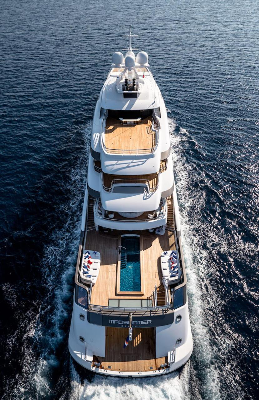 The 311-foot-long Madsummer headlines the 2019 Fort Lauderdale International Boat Show.