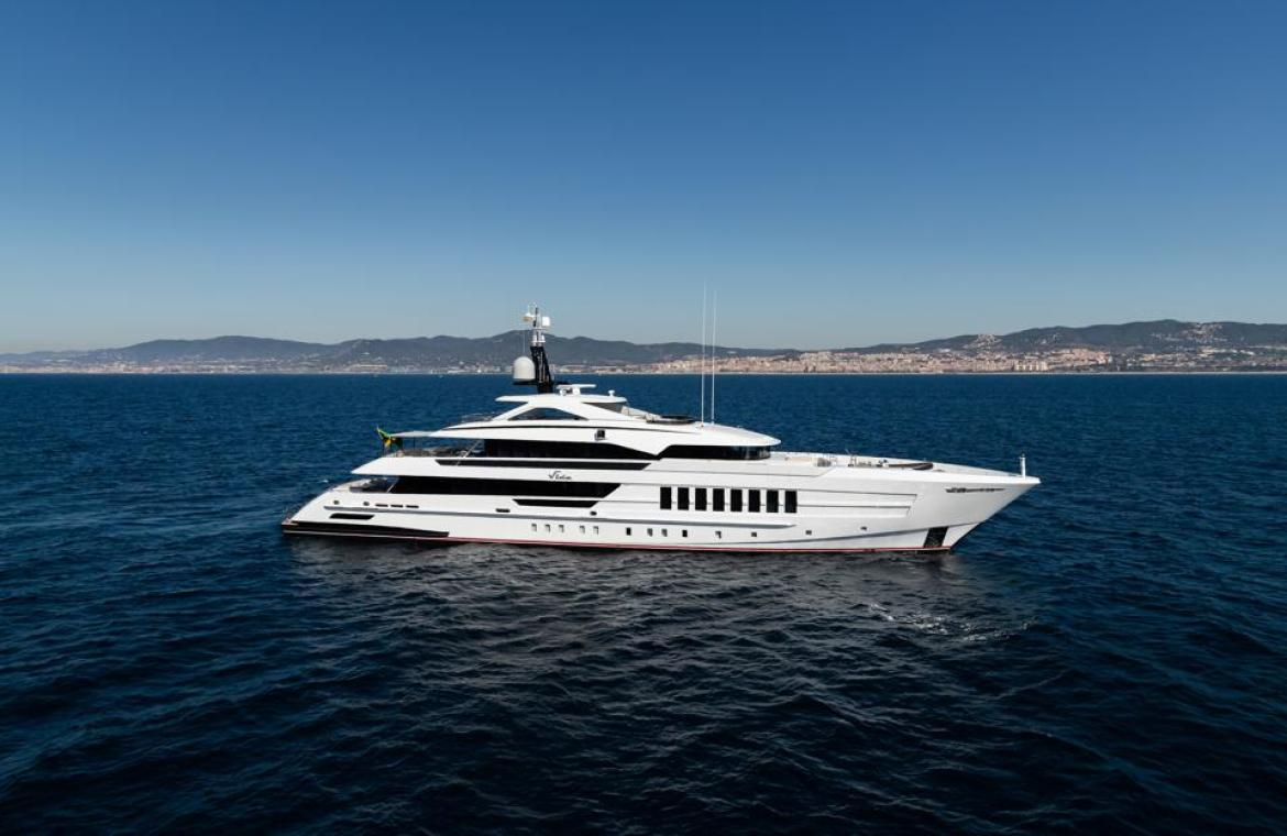Heesen's 180-footer Vida will be in Fort Lauderdale next week