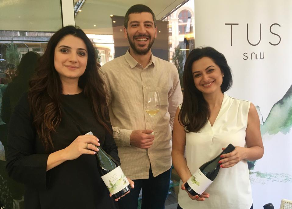 The Tus Winery team