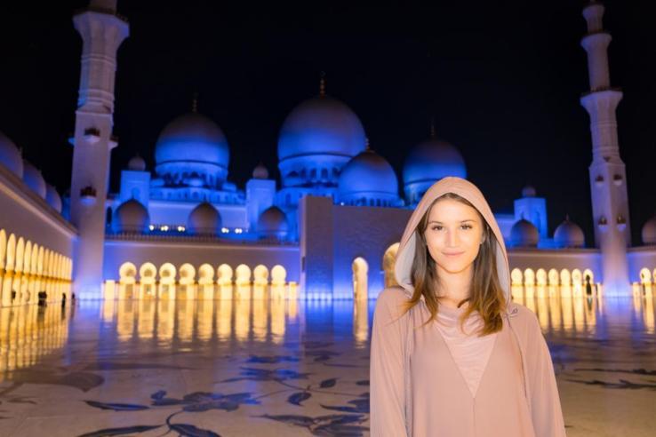 Abu Dhabi, la plus jeune personne où aller en 2020
