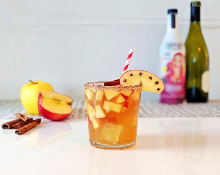 Autumn holiday drink