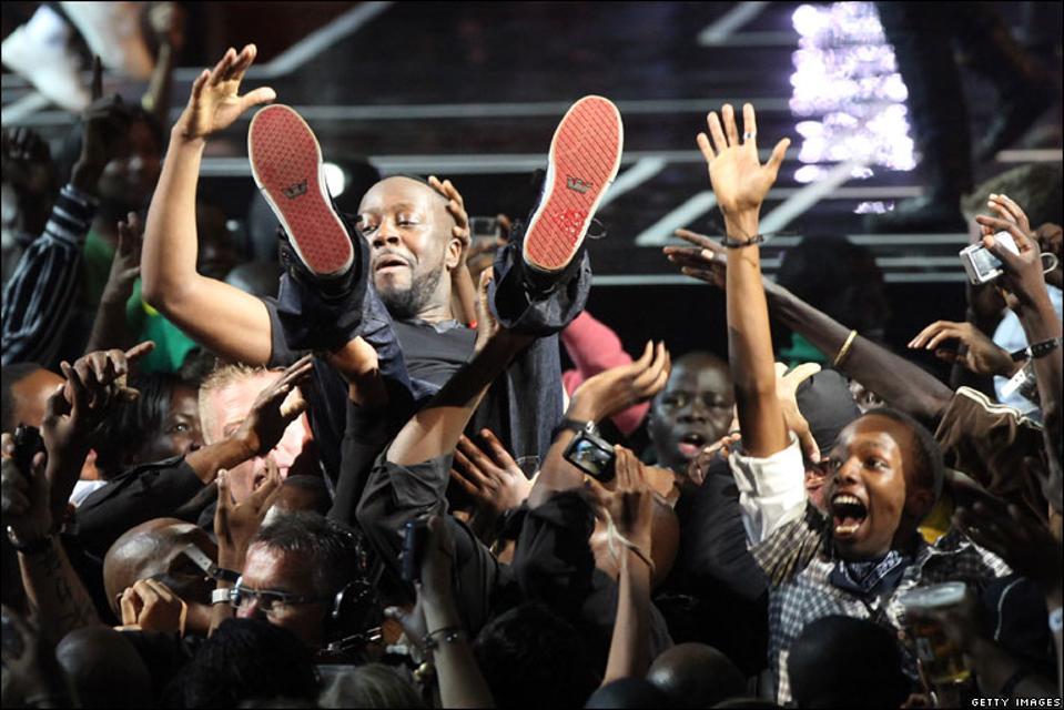 Wyclef Jean, Africa, MTV, MTV Africa Awards