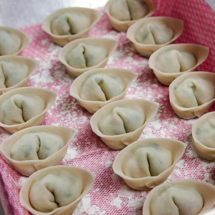 ″Money Bag″ Dumplings at Chinese Tuxedo