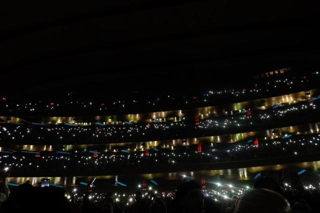 January 31, 2020, Radio City Music Hall.