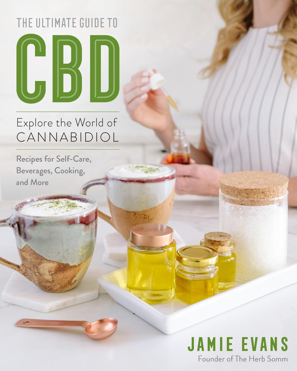 Jamie Evans, The Herb Somm, cannabis books, The Ultimate Guide to CBD, CBD wellness
