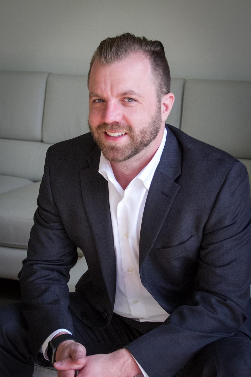 Jeremy O'Keefe, CEO and founder of Yobi // Credit: Yobi