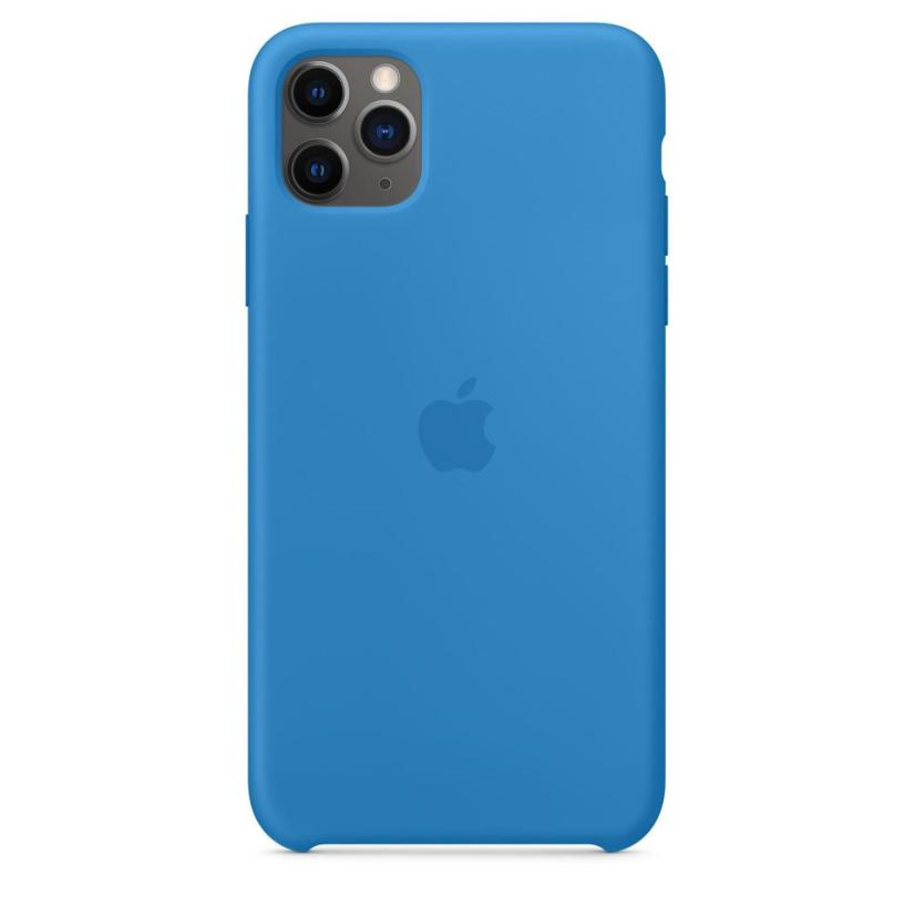 Housse en silicone Apple iPhone 11 Pro surf bleu
