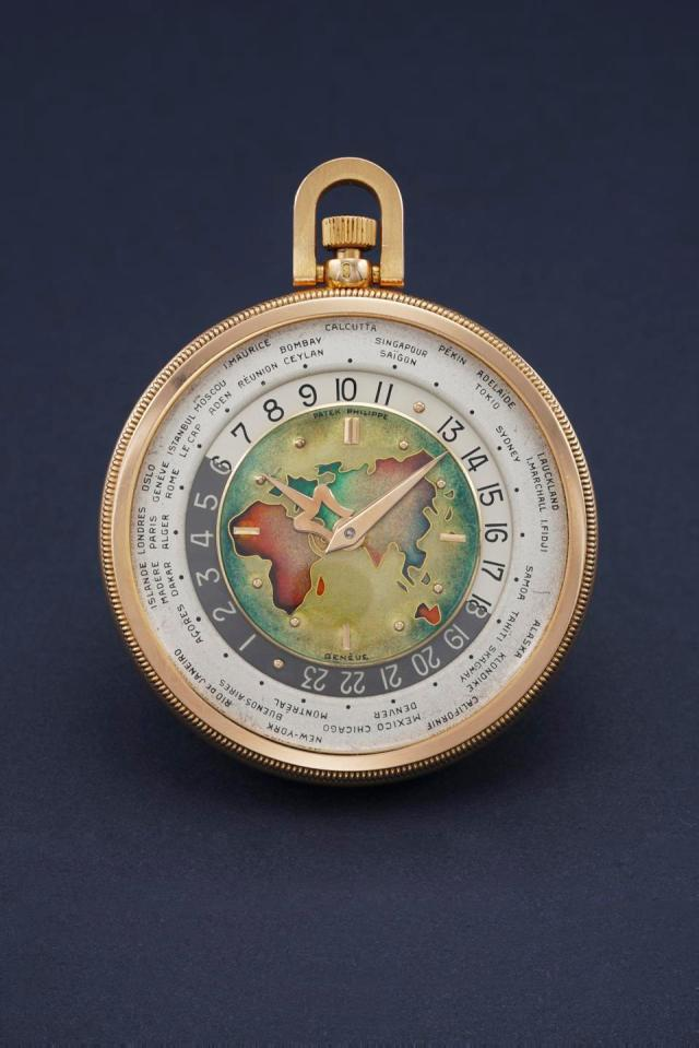 Patek Philippe 605 HU Pocket Watch