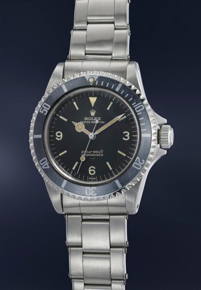 Rolex Submariners reference 5513