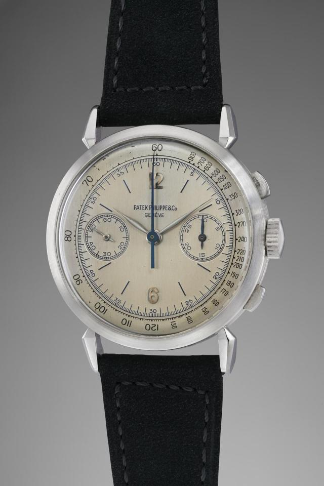 Patek Philippe 1579 in platinum owned by Jean-Claude Biver