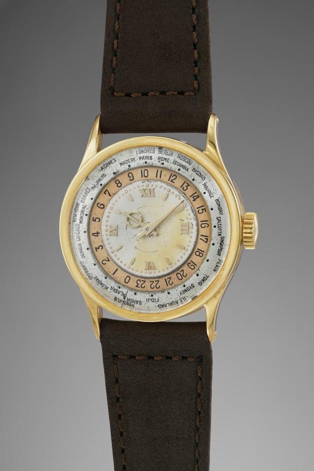 Patek Philippe 96HU prototype owned by Jean-Claude Biver