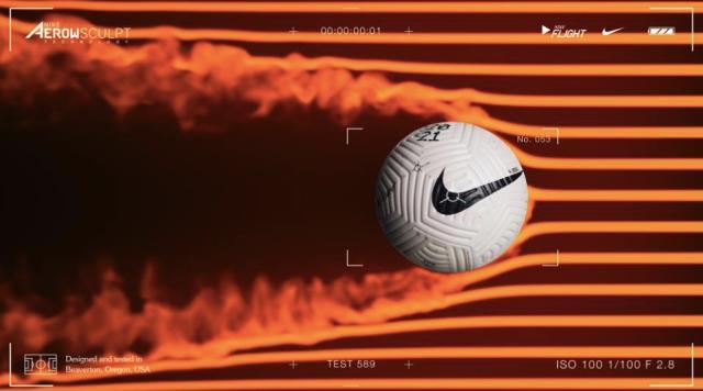 Nike soccer Flight ball