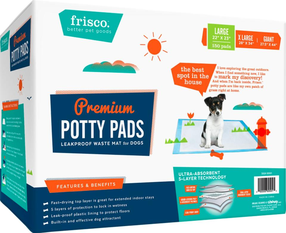 Frisco Training & Potty Pads, 22-in x 23-in, 150 Count