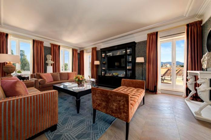 Roma Suite at the Hotel de la Ville, A Rocco Forte Hotel