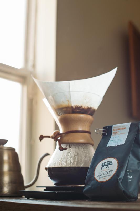 How to use a Chemex by Big Island Coffee Roasters