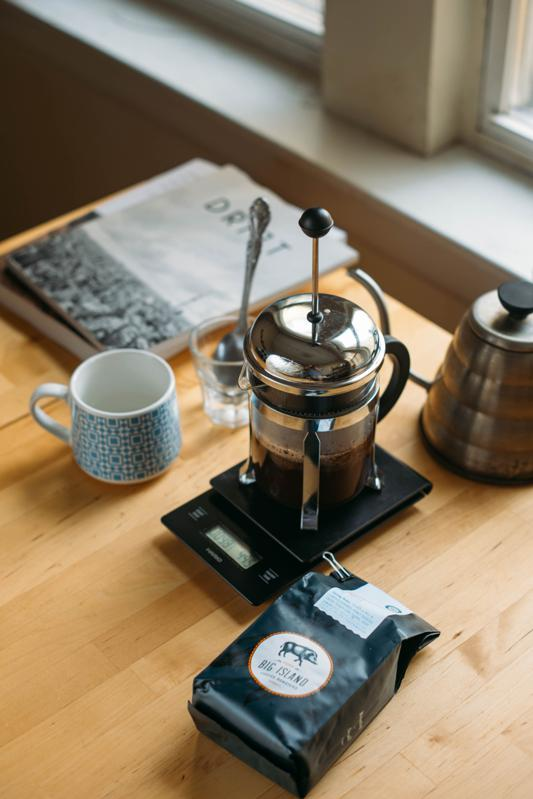 How to use a french press by Big Island Coffee Roasters