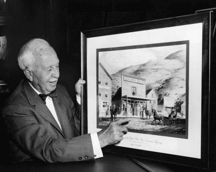 James Cash Penney & His First Store Kemmerer
