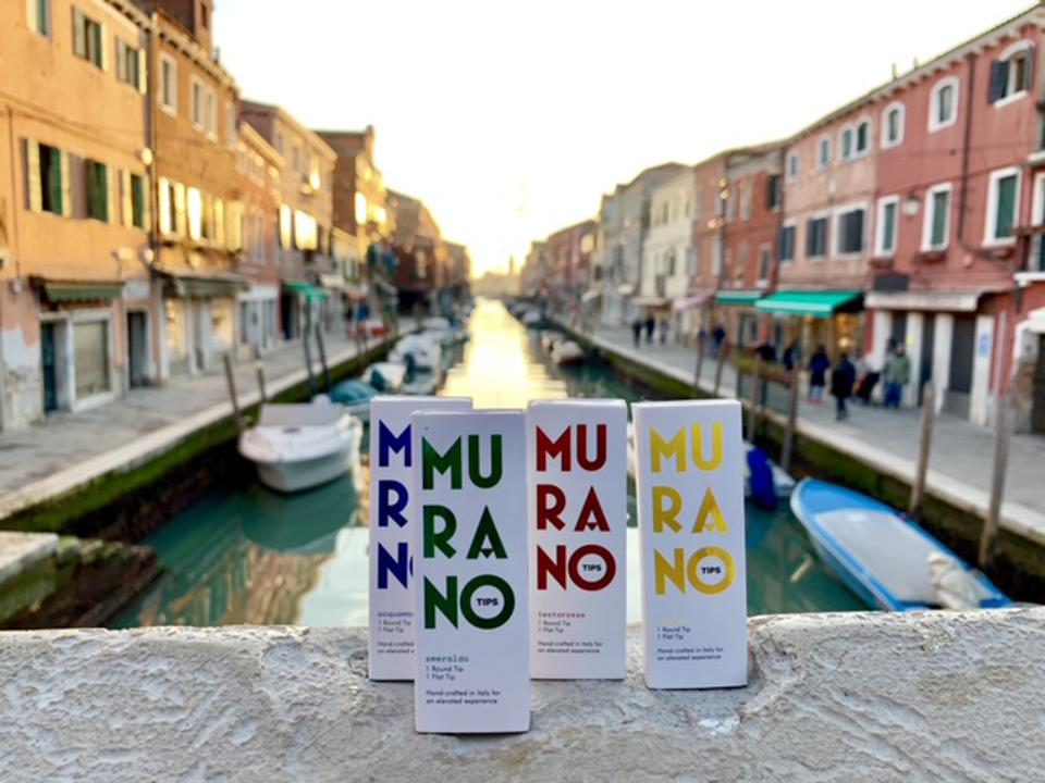 VIVOitaly and our brand, Murano Tips in venice italy