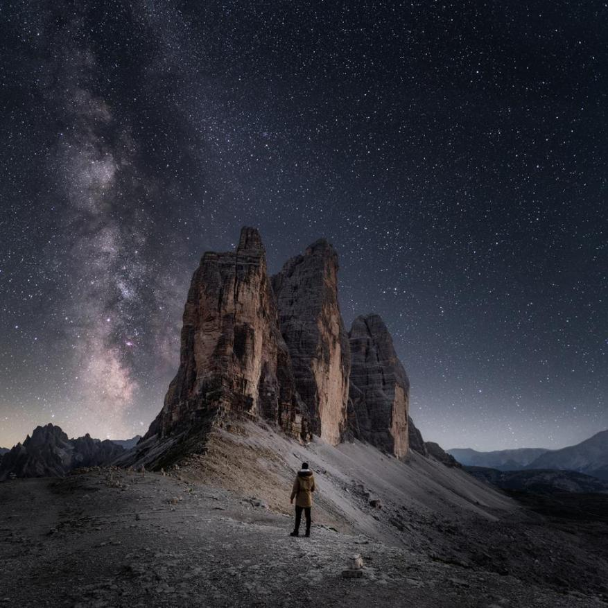 Esta semana es perfecta para ver la Vía Láctea.