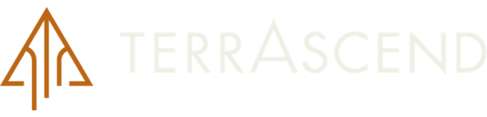 the black and orange/brown logo of TerrAscend
