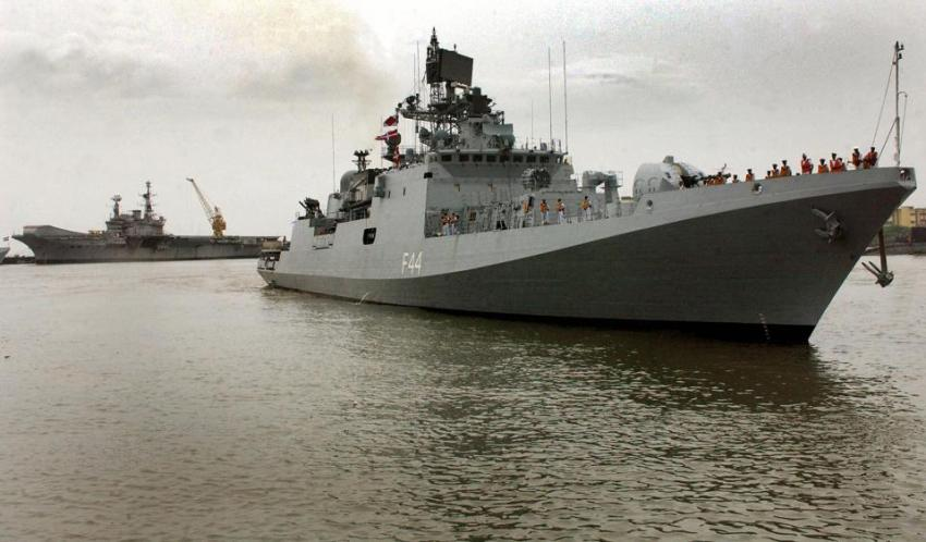 The Indian Navy's INS Tabar 'stealth fri