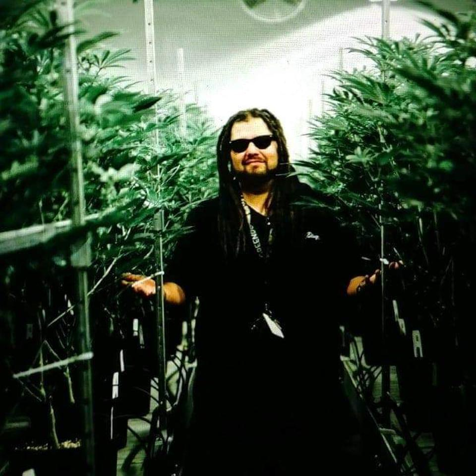johnny out in an indoor grow