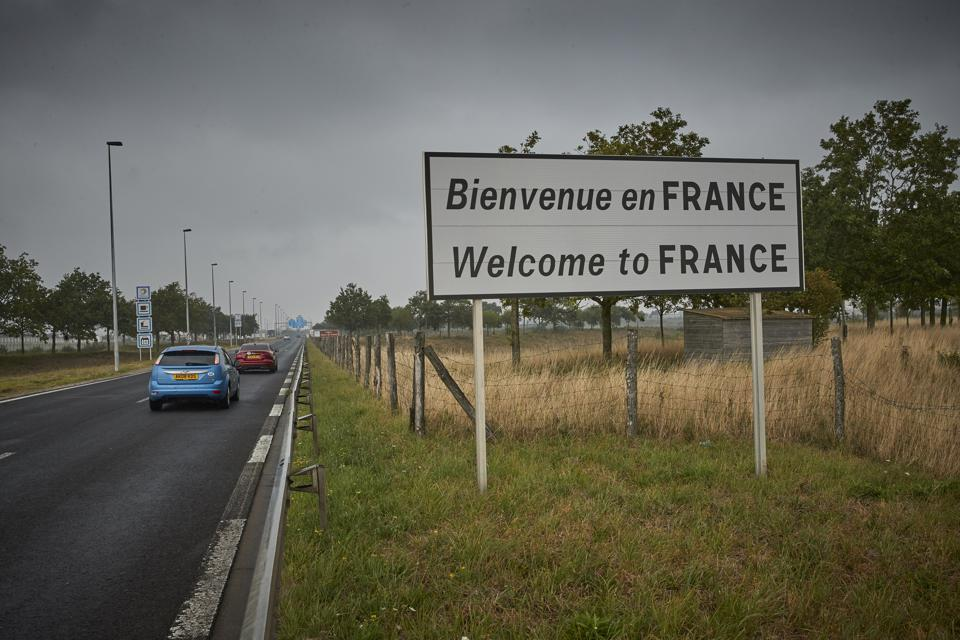 British travelers arrive in Calais France after UK lifted it from quarantine free list