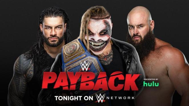 Roman Reigns vs. Bray Wyatt vs. Braun Strowman at WWE Payback 2020
