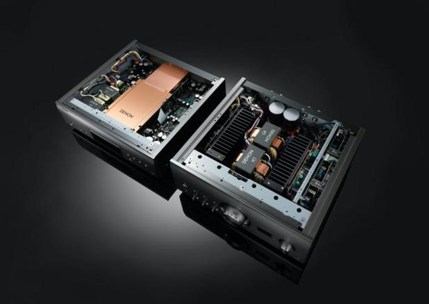 Danone DCD-A110 SACD Player and PMA-A110 Integrated Amplifier Interiors Shot