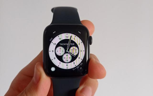 A photo of the Chronograph Pro watch face.