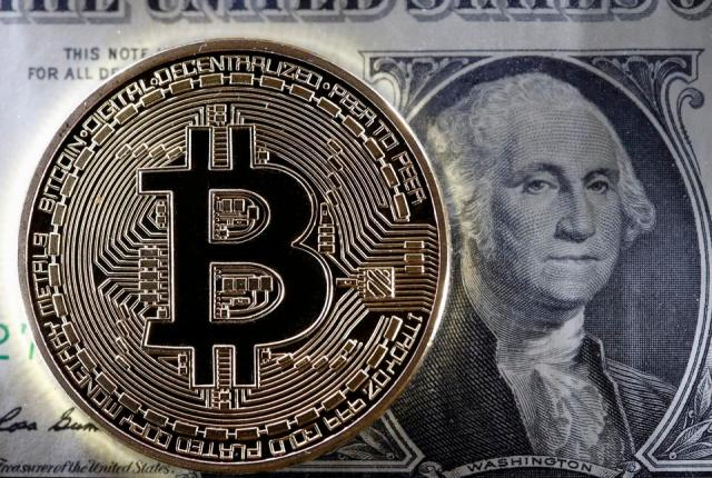 bitcoin, bitcoin price, stimulus check, dollar, image