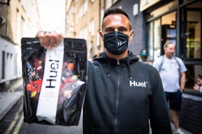 Huel founder Julian Hearn is on a mission to change the way people consume food.