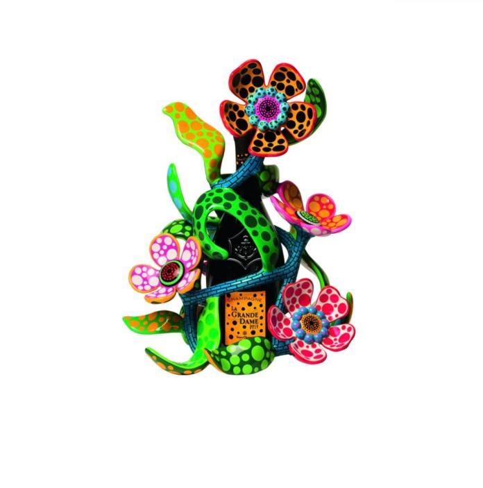 Yayoi Kusama Veuve Cliquot limited edition