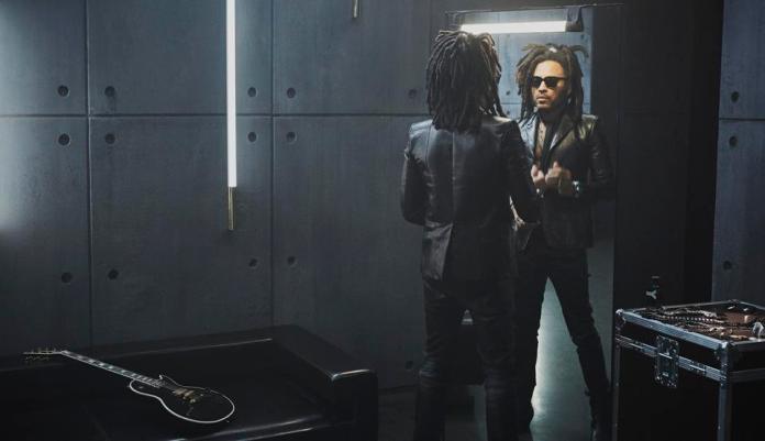 Lenny Kravitz in YSL Beauty's Y fragrance campaign