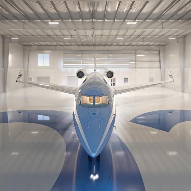 SkyHarbour private hangar