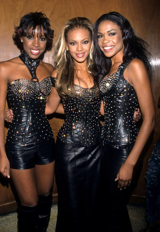 Destiny's Child at the 2000 MTV Video Music Awards at Radio City Music Hall in New York City