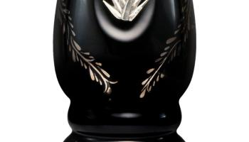 Clase Azul's bottles are all beautiful works of art on their own: this one is inlaid with pure platinum, sterling silver and 24-carat gold.