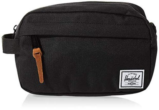 Prime Day Deal Herschel 10347-00001-OS Chapter Toiletry Kit, Black, Carry On 3L