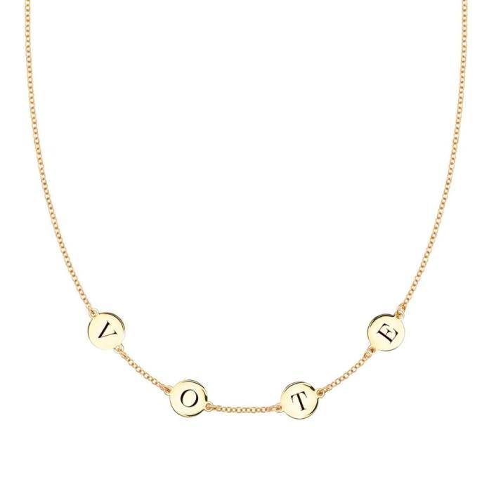 haverhill, vote, vote necklace